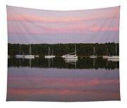 Sunset Embrace Tapestry