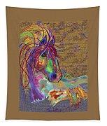 Sunset Flash Tapestry