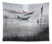 Sunset Flight Tapestry