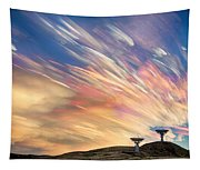 Sunset From Another Planet  Tapestry