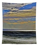 Sunset From The Top Of The Dunes Tapestry