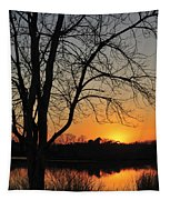 Sunset Glow Toms River New Jersey Tapestry