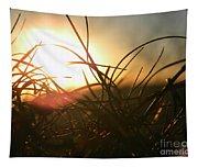 Sunset Grass 1 Tapestry