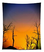 Sunset In Mesa Verde Tapestry
