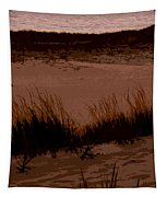 Sunset In The Dunes Tapestry