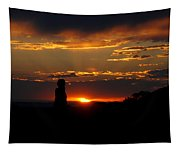 Sunset In Utah Tapestry