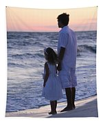 Sunset Kids Tapestry