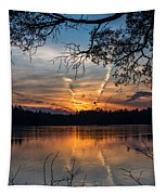 Sunset Lake Horicon Lakehurst New Jersey Tapestry