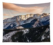 Sunset Mountains Tapestry