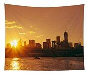 Sunset - New York City Tapestry