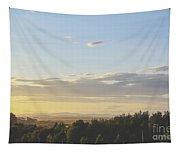 Sunset On Golf Links Tapestry