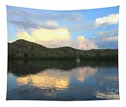 Sunset On Komodo Tapestry