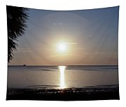 Sunset On The Gulf Of Mexico Tapestry