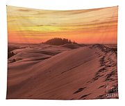 Sunset On The Ridge Tapestry