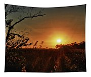 Sunset Over Little Lagoon Bayou Tapestry
