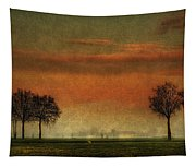 Sunset Over The Country Tapestry