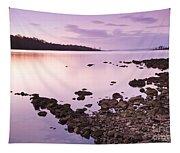 Sunset Rocks Tapestry