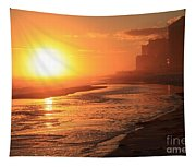 Sunset Towers Tapestry