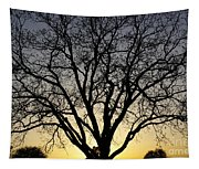 Sunset Tree Tapestry