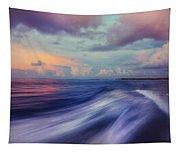 Sunset Wave. Maldives Tapestry