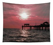 Sunsetting On The Gulf Tapestry