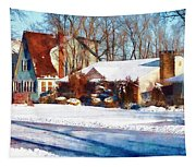 Sunshine After The Snow Tapestry