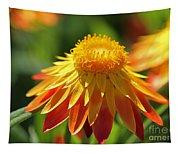 Sunshine Flowers Tapestry