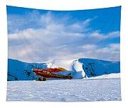 Super Cub Piper Bush Airplane Tapestry