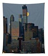 Super Moon Rising Tapestry