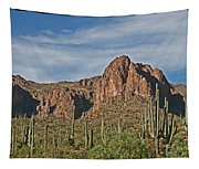 Superstition Mountains  Tapestry