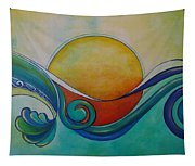 Surf Sun Spirit Tapestry