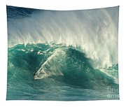Surfing Jaws 2 Tapestry