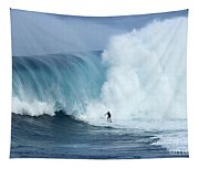 Surfing Jaws 4 Tapestry