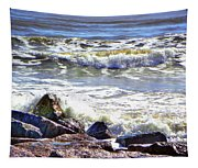 Surfside Jetty Tapestry