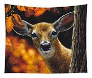 Whitetail Deer - Surprise Tapestry