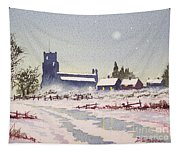 Suzan's Church Painting  Tapestry