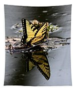 Swallowtail - Butterfly - Reflections Tapestry