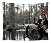 Swamp Pirate Tapestry