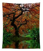 Swamped Japanese Tapestry