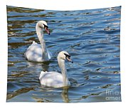 Swan Day Tapestry
