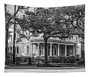 Sweet Home New Orleans Bw Tapestry