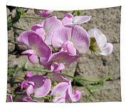 Sweet Peas Tapestry