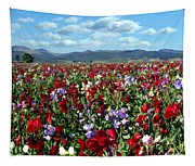Sweet Peas Forever Tapestry