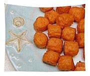 Sweet Potato Puffs Tapestry