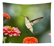 Sweet Promise Hummingbird Tapestry
