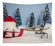 Sweet Sleigh Ride Tapestry