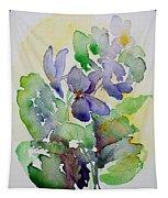 Sweet Violets Tapestry