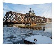 Swinging Trestle  Milwaukee 3rd Ward Tapestry