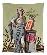 Sybil Of Cumae, No. 16 From Antique Tapestry