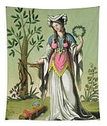 Sybil Of Delphi, No. 15 From Antique Tapestry